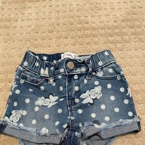 Gap Disney 18-24 Months Jean shorts